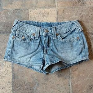 True Religion | Josie Disco Jean Shorts
